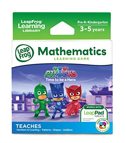 PJ Masks: Time To Be A Hero (LeapFrog Learning)