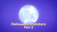 Halloween Tricksters Part 2 Title Card
