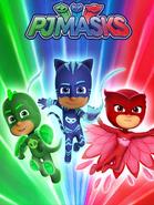 PJ Masks Season 2 Promotional Poster 4
