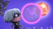 Mothzuki in the moon bubble