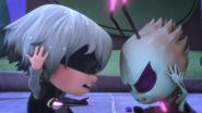 Luna and Motsuki cover their ears