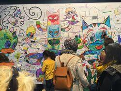 Les Pyjamasques coloring wall.jpg