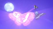 Motsuki shrinks one big moth