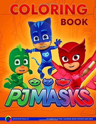 PJ Masks: Coloring Book