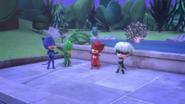 PJ Masks (except Luna Girl) laughs