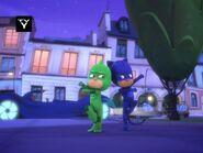 Gekko and Catboy's hero pose