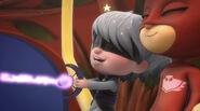 Luna Girl and Owlette swinging