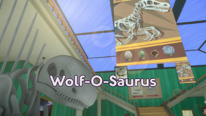 Wolf-O-Saurus Title Card.png