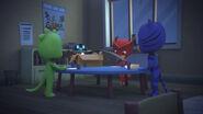 PJ Robots gives baby pjs art supplies