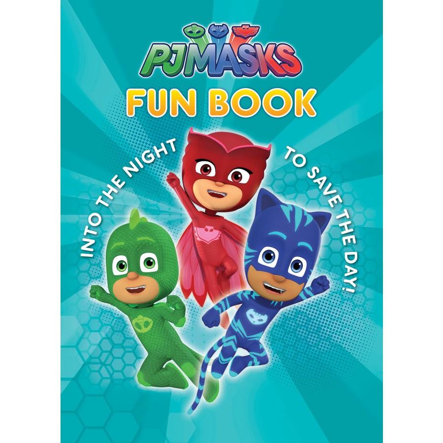 PJ Masks Fun Book