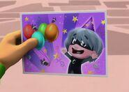 Luna Girl's invitation