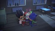 Everyone hugs Motsuki