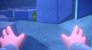 Luna attempts to approach Gekko