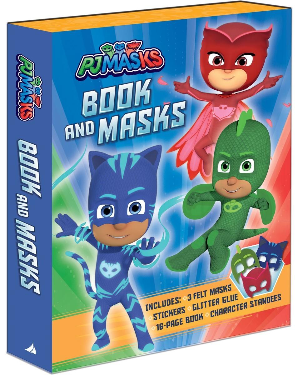 PJ Masks Book and Masks