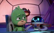 Gekko and PJ Robot