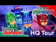PJ Masks - Welcome To PJ Masks HQ! ✨ - Disney Junior UK