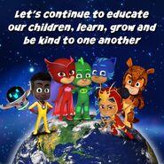 PJ Masks Heroes - Educating Children
