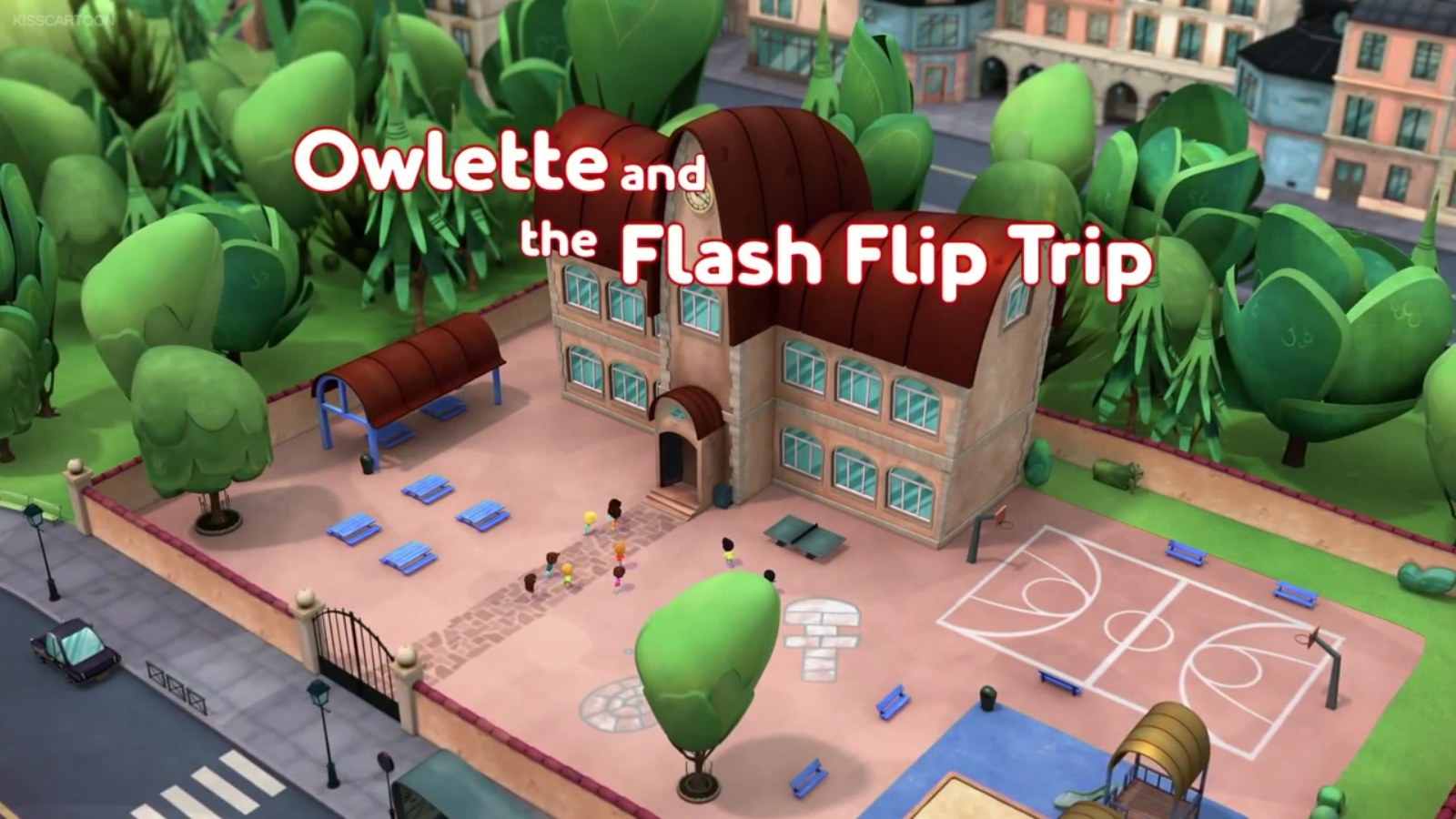 Owlette and the Flash Flip Trip