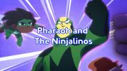 Pharaoh and The Ninjalinos Title Card