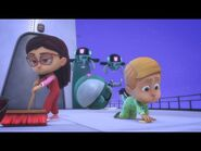 PJ Masks S4E11 Gekko Vs Armavillian; Super Super Cat Speed