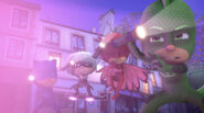 The PJ Masks and Luna Girl get blinded by the light