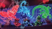 The PJ Masks and their animal spirits
