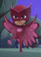 Chicklette's hero stance