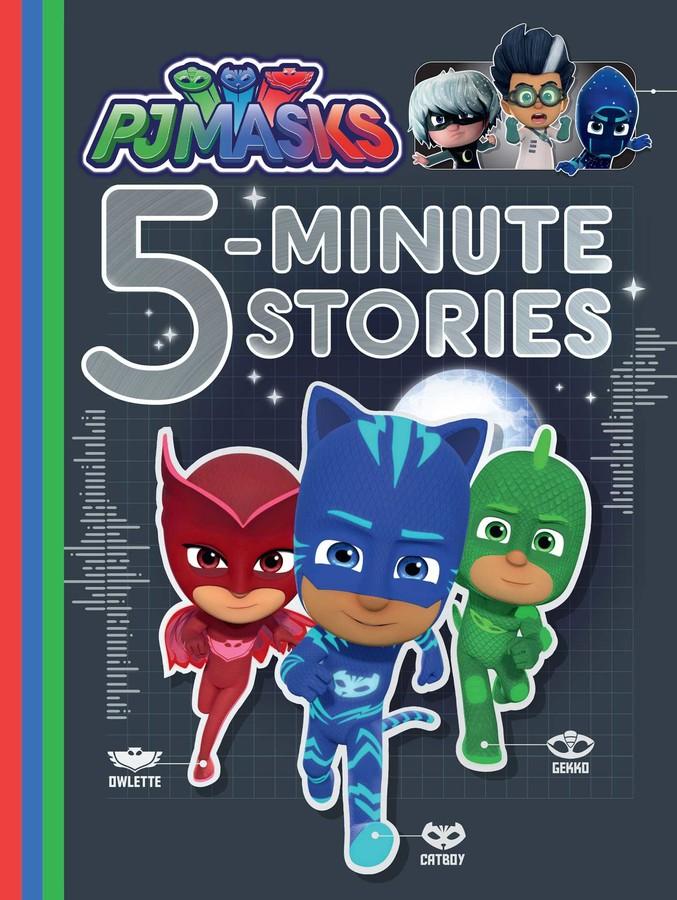 PJ Masks 5-Minute Bedtime Stories