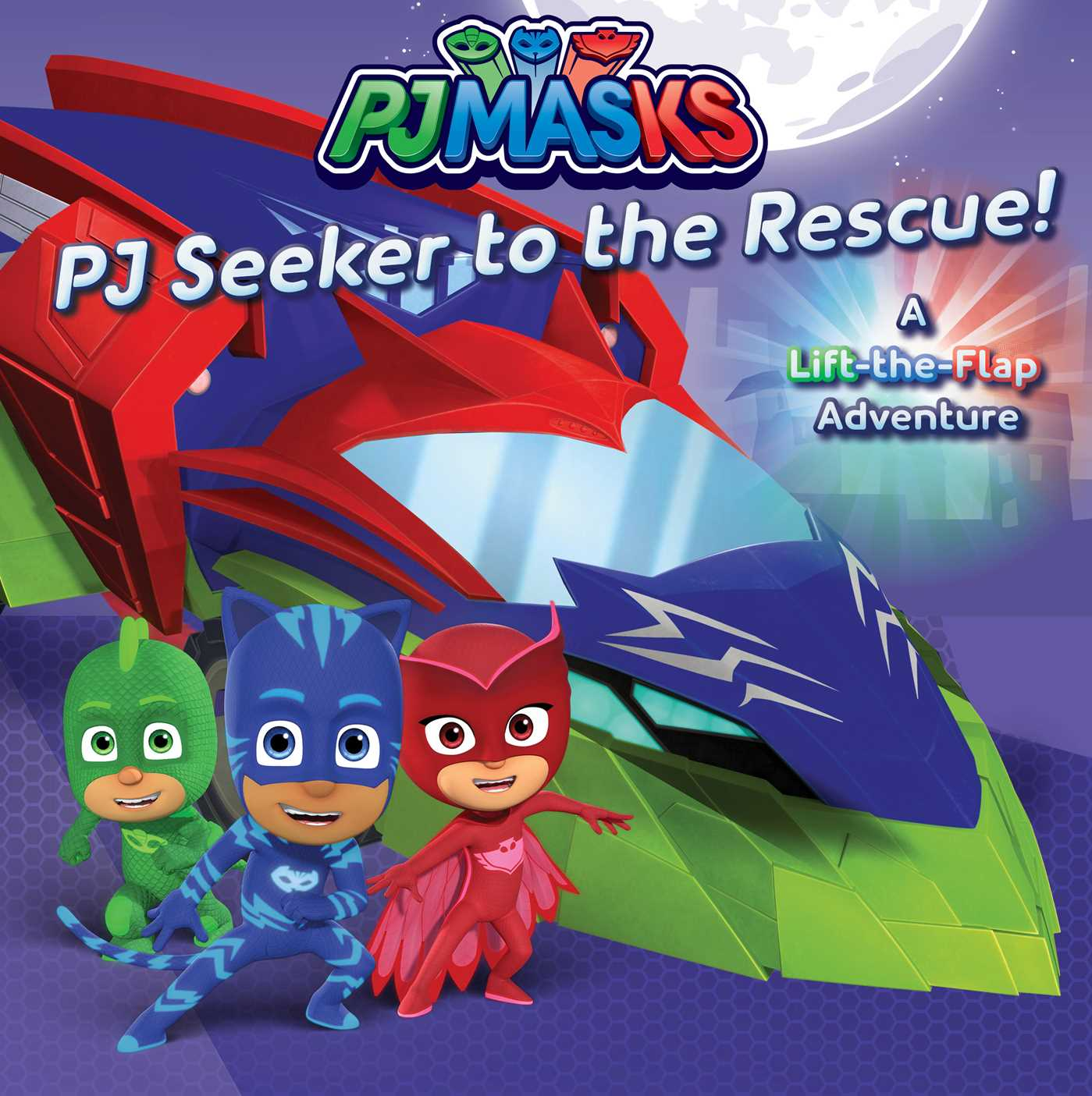 PJ Seeker to the Rescue!: A Lift-the-Flap Adventure