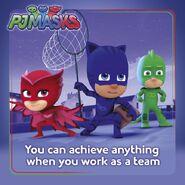 PJ Masks teamwork