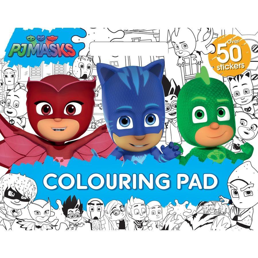 PJ Masks: Giant Colouring Pad