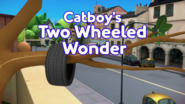 Catboy's Two-Wheeled Wonder