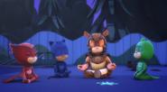 PJ Masks and Armadylan meditating