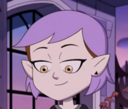 Amity with Purple hair (SPOILERS!!)