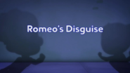 Romeo's Disguise card