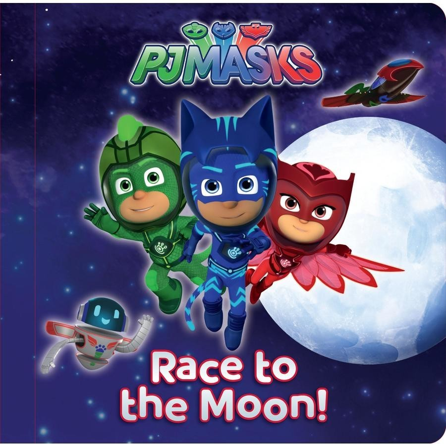 PJ Masks Storyboard: Race to the Moon