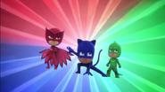 PJ Masks pose (Catboy Takes Control)