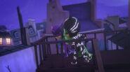 Gekko with Night Panther and Dark Owl