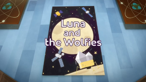 Luna and the Wolfies Title Card.png