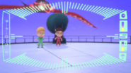 Owlette and Gekko arrive at the Sky Factory