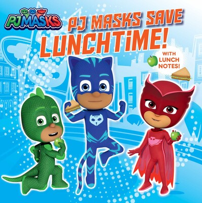 PJ Masks Save Lunchtime!