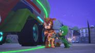 Gekko and Armadylan accidentally zap the PJ Seeker