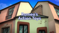 Romeo's Action Toys title card