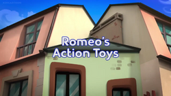 Romeo's Action Toys title card.png