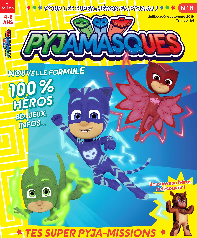 Pyjamasques N° 8 (Juillet-août-septembre 2019)
