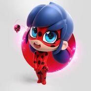 Cute Chibi Ladybug