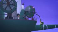 Robot grabs Gekkos crystal