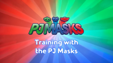 Training with the PJ Masks Title Card.png