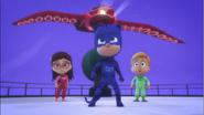 Catboy saves Greg and Amaya