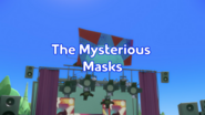 The Mysterious Masks Title Card